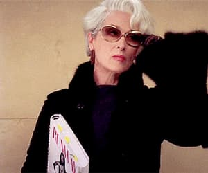 meryl streep and the devil wears prada image