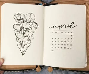 art, journals, and bullet journal image