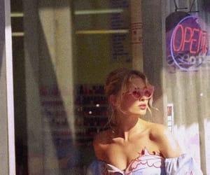 elsa hosk, model, and vintage image