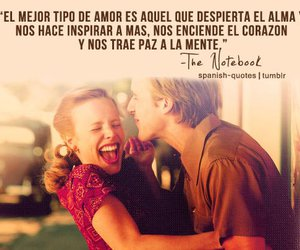 love, the notebook, and frases image