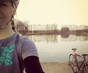 bicycle, fixie, and purelove image