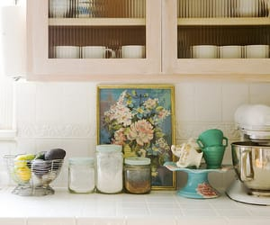 kitchen, decor, and decorating image