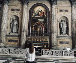 art, church, and rome image