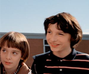gif, finn wolfhard, and mike wheeler image