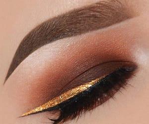 eye, eyeliner, and eyebrow image