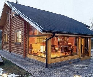 cabins, dream home, and home image