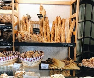 bakery, bread, and eat image