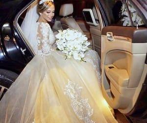 Blanc, marie, and wedding image