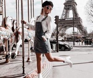 fashion, travel, and paris image