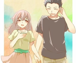 koe no katachi, anime, and ishida image