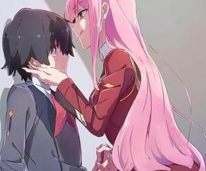 anime, art, and couples image