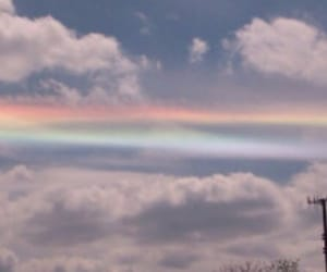 header, rainbow, and sky image
