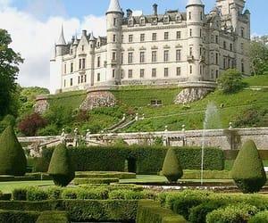 castle, scotland, and uk image