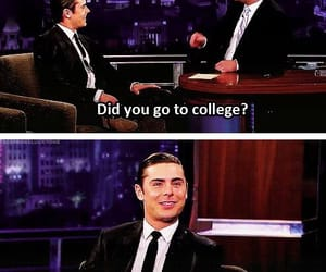 funny, efron, and zac image