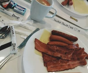 breakfast, food, and ikea image