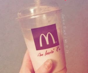 McDonalds and milkshake image
