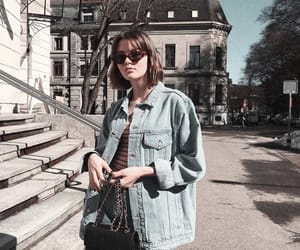 beauty, denim, and style image