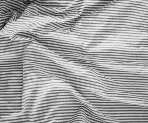 stripes, bed, and white image