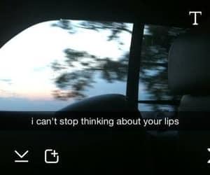 love, lips, and snapchat image