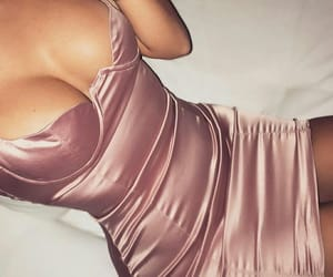body, pink, and champagne image