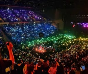 concert, pride, and rainbow image