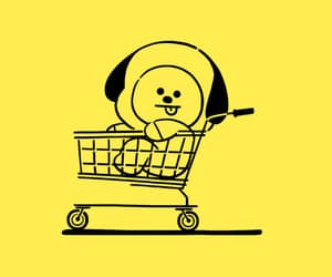 bt21, wallpaper, and chimmy image