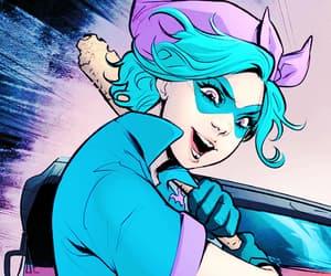 bluebird, dc comics, and bombshells image