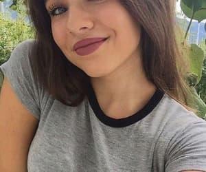 girl, tumblr, and makeup image
