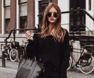 black, chic, and fashion image