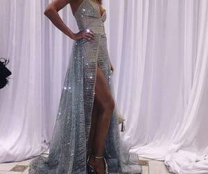 diamonds, dress, and outfits image