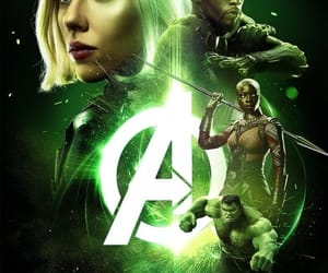 Avengers, Marvel, and widow image