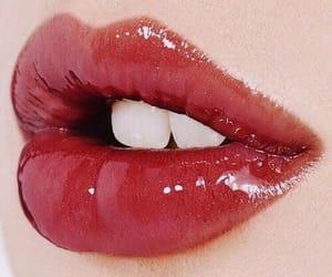 lips, makeup, and lipstick image
