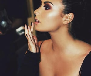 demi lovato, makeup, and Queen image
