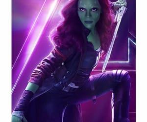 infinity war, Avengers, and zoe zaldana image