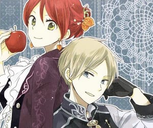 akagami no shirayukihime, shirayuki, and anime image