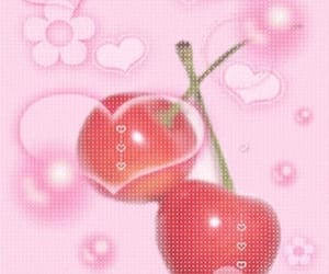 cherry, pink, and soft image
