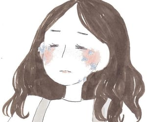 girl, cry, and korean image