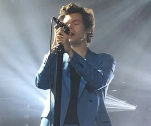blue, concert, and Harry Styles image