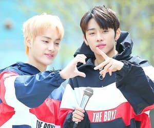 sunwoo, the boyz, and haknyeon image