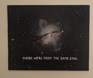 stars, love, and galaxy image