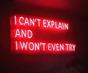 frases, neon, and quotes image