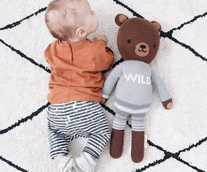 baby, bear, and wild image