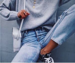 goals, jewelry, and sweater image