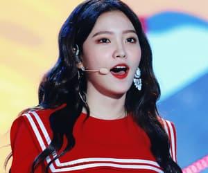 girl, red velvet, and style image