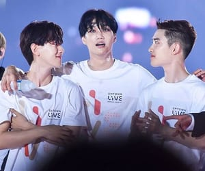 bday, exol, and 6years with exo image