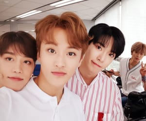 nct, doyoung, and mark image