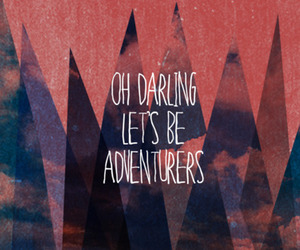 quote, adventure, and darling image