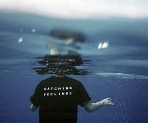 feelings, water, and grunge image