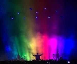 troye sivan, rainbow, and concert image