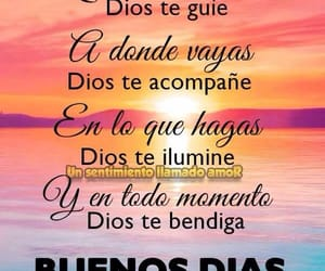 frases, buenos días, and motivational image